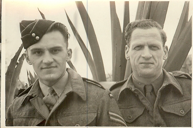 John in his army days